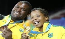 JOGOS OLÍMPICOS 2016 - Ouro na Luta Olímpica é do Brasil