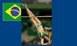 JOGOS PANAMERICANOS - Fabiana Murer, prata no salto com vara