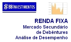 INVESTIMENTOS - RENDA FIXA - Comportamento do Mercado Secundário de Debêntures