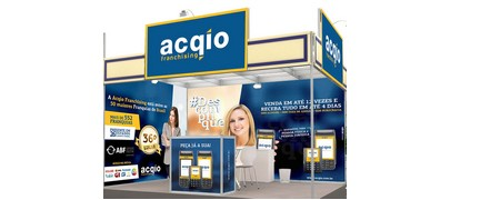 ACQIO FRANCHISING - Presente na Feira do Empreendedor do SEBRAE SP