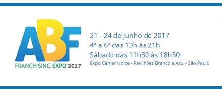 ABF FRANCHISING EXPO acontece em Sampa em 21 a 24.06