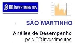 INVESTIMENTOS - SÃO MARTINHO - Resultados no 1º trimestre/2018