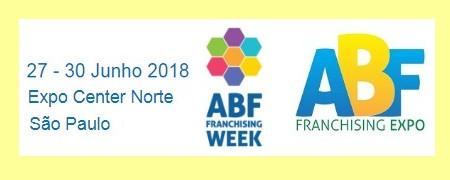ABF FRANCHISING EXPO acontece em São Paulo, de 27 a 30 de junho