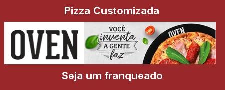 OVEN PIZZA CUSTOMIZADA Rede de Franquias inaugura segunda loja em Brasília