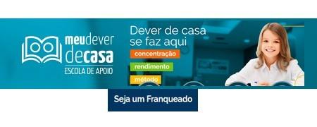 ESCOLA DE APOIO MEU DEVER DE CASA Franquia lança 2 modelos de franquia em Educação