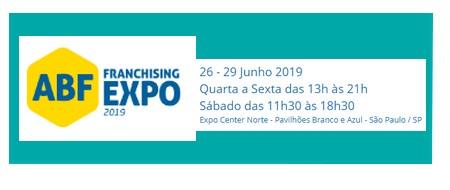 28ª ABF FRANCHISING EXPO Acontece em São Paulo, de 26 a 29.06
