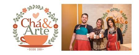 CHÁ & ARTE  Franquia abre quinta loja em Curitiba