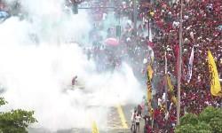 FLAMENGO Na festa das Ruas Bombas, Tiros e Pancadaria da PM