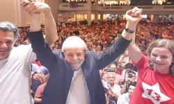 LULA discursa no 7º Congresso do PT e prega a união da centro-esquerda contra Bolsonaro