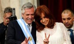 ARGENTINA Na posse Alberto Fernandez estende a mão ao Brasil