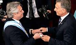 ALBERTO FERNANDEZ assume o governo na Argentina