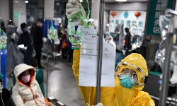 CORONAVIRUS-12  CHINA testa vacina antiviral russa