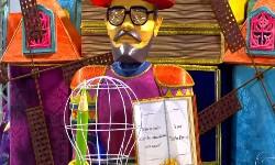 ÁGUIA DE OURO, Campeã do Carnaval de Sampa com homenagem a PAULO FREIRE
