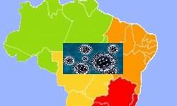 BRASIL já tem 2.433 casos de contaminação e 57 mortos pela Covid-19