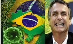 BOLSONARO diz estar contaminado pela COVID-19
