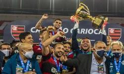 CAMPEÃO CARIOCA em 2020 FLAMENGO 1 a 0 Fluminense