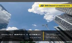 BBPO11 E GTWR11 - Analise Comparativa dos Fundos Imobiliários, pelo BB-BI