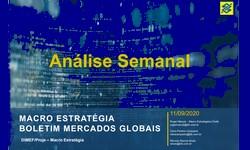 MERCADOS  Retrospectiva Semanal de 11.09.2020: Internacional e Brasil
