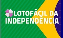 LOTOFÁCIL da Independência Prêmio sai para 50 apostadores: R$ 2,5 Milhões