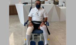 MARCO AURÉLIO, ministro do STF, recebeu alta após cirurgia no joelho