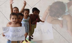 CRIANÇAS  Brasil tem 5 mil aptas para Adoção e 30 mil em abrigos