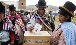 BOLÍVIA - Encerrada a Apuração: LUÍS ARCE (MAS) é o presidente eleito