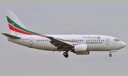 INDONÉSIA - Boeing 737-500 some do radar logo após decolar
