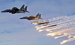 ISRAEL atacou Damasco com mísseis no domingo, mas sistemas de defesa repeliram.