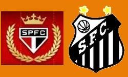 SÃO PAULO 4x0 SANTOS, no Morumbi, pelo Campeonato Paulista. sabado