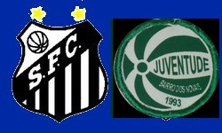 SANTOS 0 x 0 JUVENTUDE, na Vila Belmiro. Peixe em 9º no Brasileirão
