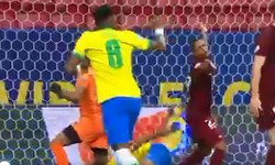 BRASIL 3x0 VENEZUELA pela Copa América no Mané Garrincha, em Brasília