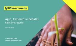 AGRO ALIMENTOS E BEBIDAS - Relatório Setorial de Julho/2021