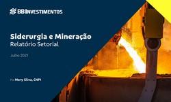 SIDERURGIA E MINERAÇÃO - Relatório Setorial - Julho 2021