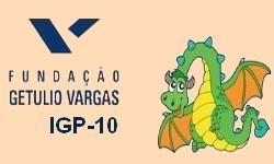 IGP-10 - 34,6% é a taxa em 12 meses de Inflação medida pela FGV