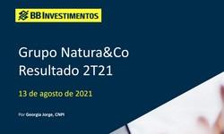 GRUPO NATURA & CO - Resultado 2º Trimestre/2021: POSITIVO