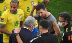 BRASIL x ARGENTINA - ANVISA paralisa o jogo e partida é encerrada